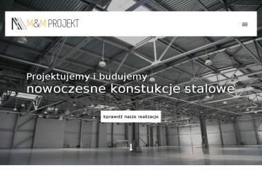 M&M PROJEKT - Konstrukcje stalowe Klonowa