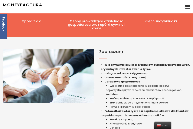 Moneyfactura - Kredyt dla firm Warszawa
