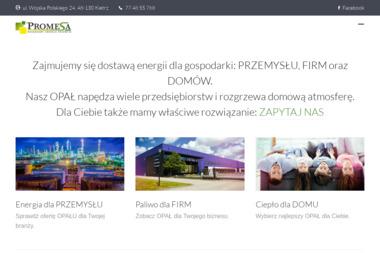 Przedsiębiorstwo Produkcyjno-Handlowe PROMESA - Ekogroszek Kietrz
