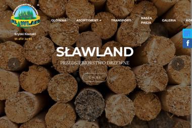 P.D. Sławland Sp. z o.o. - Skład drewna Szczecin