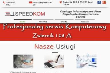 SPEEDKOM Sebastian Rzeszutko - Firma Programistyczna Łęki Górne