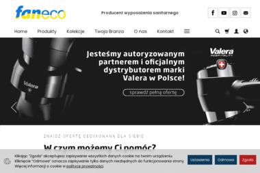 FANECO Sp. z o.o. - Wyposażenie łazienki Poznań