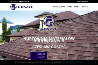 Hurtownia Materiałów Budowlanych Czesław Goszyc - Pokrycia dachowe Pawłowice