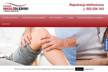 Gabinet rehabilitacji i masażu głębokiego - Rehabilitanci medyczni Poznań