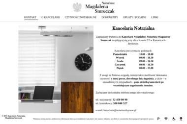 Kancelaria Notarialna Notariusz Magdalena Smreczak - Notariusz Katowice