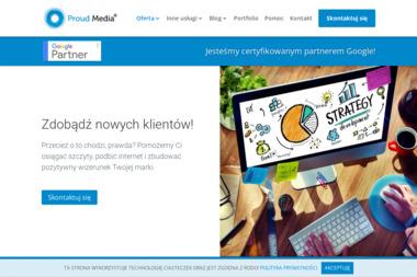 Proud Media Sp. z o.o - Strony WWW Bielsko-Biała