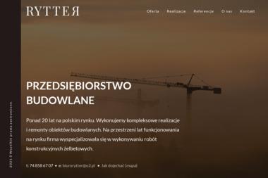 Przedsiębiorstwo Budowlane Rytter - Kierownik budowy Dobromierz