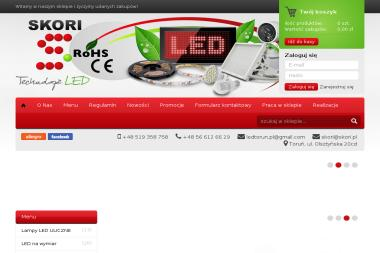 Skori - Technologie LED - Lampy Toruń