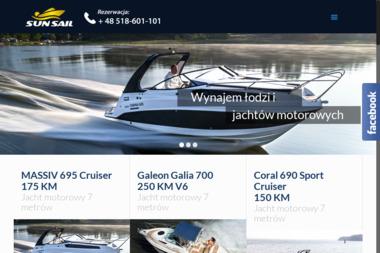 Sun Sail wynajem łodzi motorowych i skuterów wodnych - Wypożyczalnia samochodów Gdynia