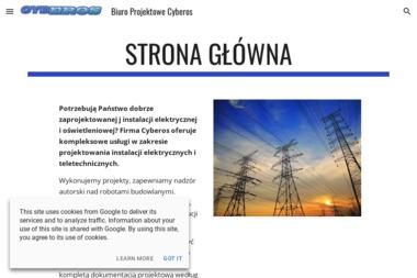 Cyberos Przemysław Król - Projektant instalacji elektrycznych Włoszakowice
