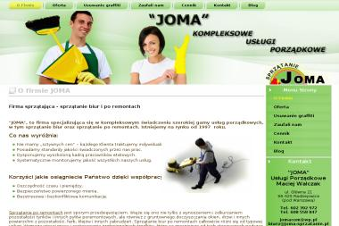 JOMA Usługi Porządkowe Maciej Walczak - Ekipa Sprzątająca Radziejowice