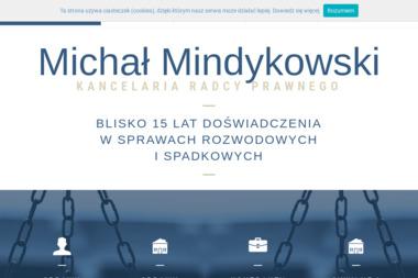 Kancelaria Radcy Prawnego Mindykowski - Pisma, wnioski, podania Gdańsk
