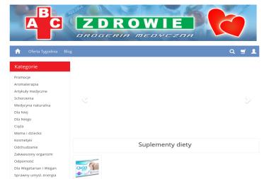 Drogeria medyczna Abc-zdrowie.com - Apteki Warszawa