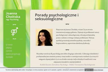Joanna Choinska DUO - Psycholog Poznań