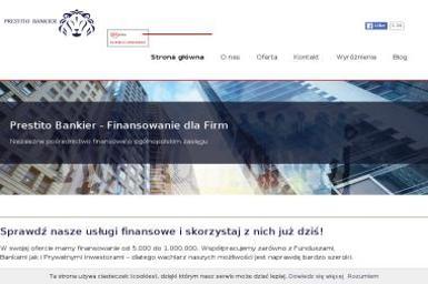 Prestito Bankier - Kredyt dla firm Tychy