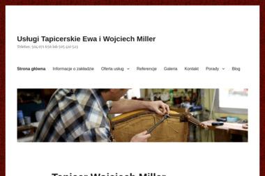 Wojciech Miller - Tapicer Meblowy, Samochodowy, Renowacja Skór - Tapicer Ożarów Mazowiecki