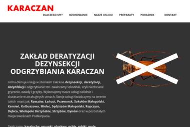 Usługowy Zakład Dezynsekcji, Deratyzacji, Dezynfekcji KARACZAN - Dezynsekcja i deratyzacja Rzeszów