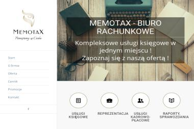 Memotax Biuro Rachunkowe - Biuro rachunkowe Dąbrowa Górnicza