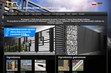 Nowoczesne-Ogrodzenia - Ogrodzenia panelowe Kluczbork