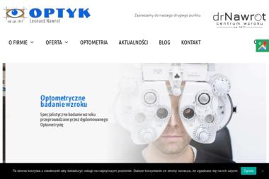 Zakład Optyczny Leonard Nawrot - Okulista Zawiercie