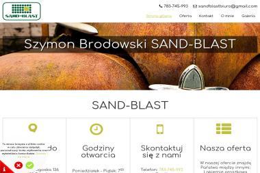 SAND-BLAST - Czyszczenie przemysłowe Toruń