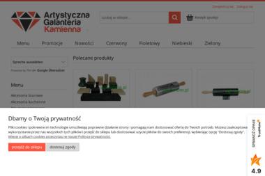Artystyczna Galanteria Kamienna - Sklep internetowy Golińsk