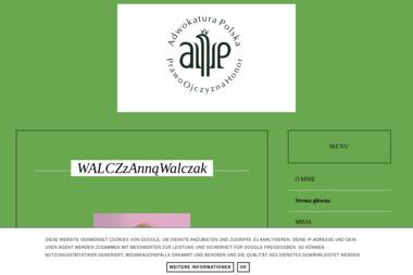 Kancelaria adwokacka Anna Walczak - Adwokat Włocławek