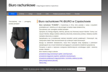 """""""FK-BIURO"""" KOMPLEKSOWE USŁUGI FINANSOWO-KSIĘGOWE - Finanse Częstochowa"""