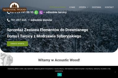 Acoustic Wood Sp. z o.o. - Domy z bali Białystok