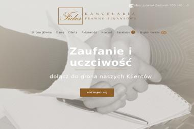 Kancelaria Prawno-Finansowa Fides - Kredyt konsolidacyjny Kraków