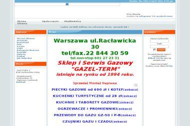Gazel-term - Grzejniki, ogrzewanie Warszawa