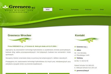 Greeneco sp.j. R. Schulze, B. Wołczyk - Ogród i rośliny Wrocław