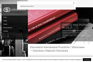 Kancelaria Adwokacka Adwokat Łukasz Głębocki - Kancelaria Prawna Pruszków