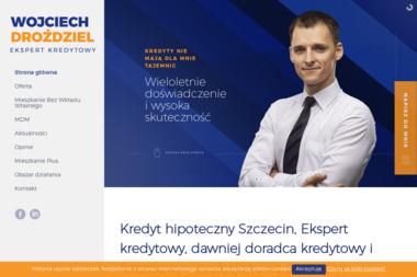 Wojciech Droździel Doradca Finansowy i Kredytowy - Kredyt hipoteczny Gryfino