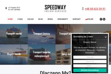 Speedway Freight Services Poland Sp. z o.o. - Transport międzynarodowy Gdynia