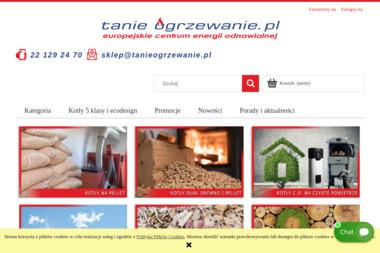 Tanieogrzewanie.pl - Budowa Sklepu Internetowego Arcelin