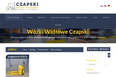 Używane wózki widłowe Czapski - Wózki widłowe Rawa Mazowiecka