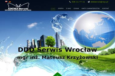 Dezynsekcja Deratyzacja Dezynfekcja DDD Serwis Wrocław - Ochrona środowiska Wrocław
