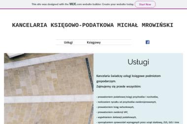 Kancelaria księgowo-podatkowa Michał Mrowiński - Usługi finansowe Bytów