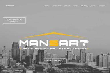 Mansart - Płyta karton gips Warszawa