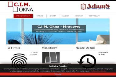 C.I.M Cezary Gadomski - Naprawa Okien Mrągowo