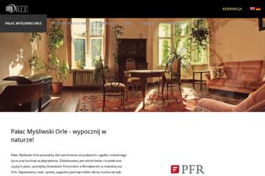 Pałac Myśliwski Orle - Gastronomia Mirosławiec