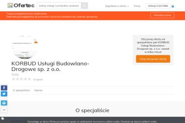 KORBUD Usługi Budowlano-Drogowe sp. z o.o. - Układanie Kostki Brukowej Tychy