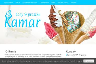 Kamar S.C. Lody w proszku - Lody Bydgoszcz