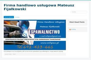 Firma Handlowo Usługowa Mateusz Fijałkowski - Tarasy Grudziądz