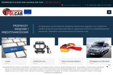 Polcar Przedsiębiorstwo transportowe Bogdan Kałabunowski - Wypożyczalnia samochodów Lublin