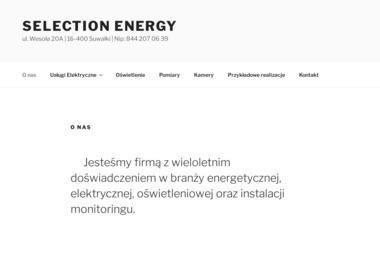 Selection Energy - Projektant Instalacji Elektrycznych Suwałki