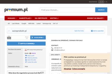 Auto-Produkt Tomasz Lubelski - Tartak Łódź