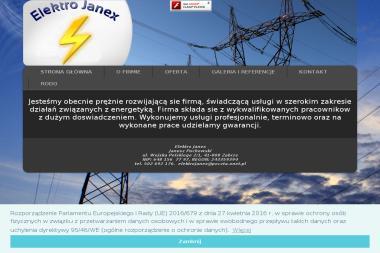 Elektro Janex Janusz Puchowski - Montaż oświetlenia Zabrze
