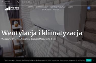 PRO-CON - Chłodnictwo Grodzisk Mazowiecki